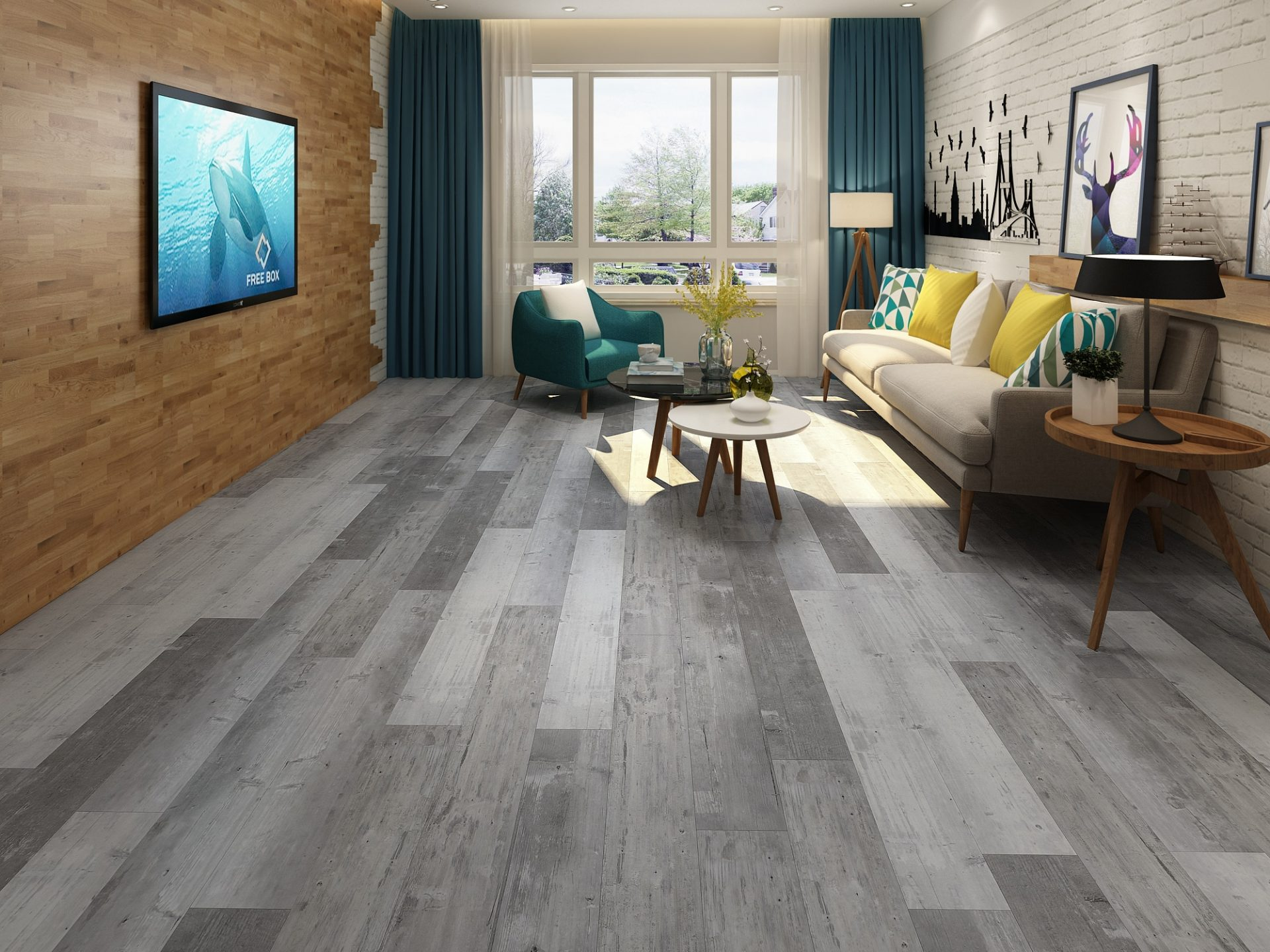 Parkay Xpr Slate Weathered Integrity Laminate Flooring